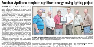 American Appliance and Contemporary Energy Solutions