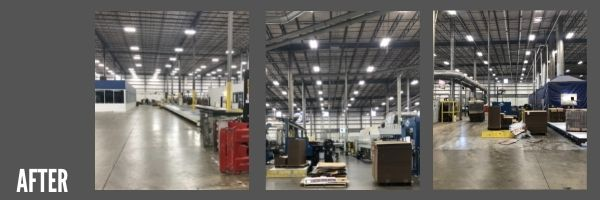 CES generating results: before and after lighting upgrade